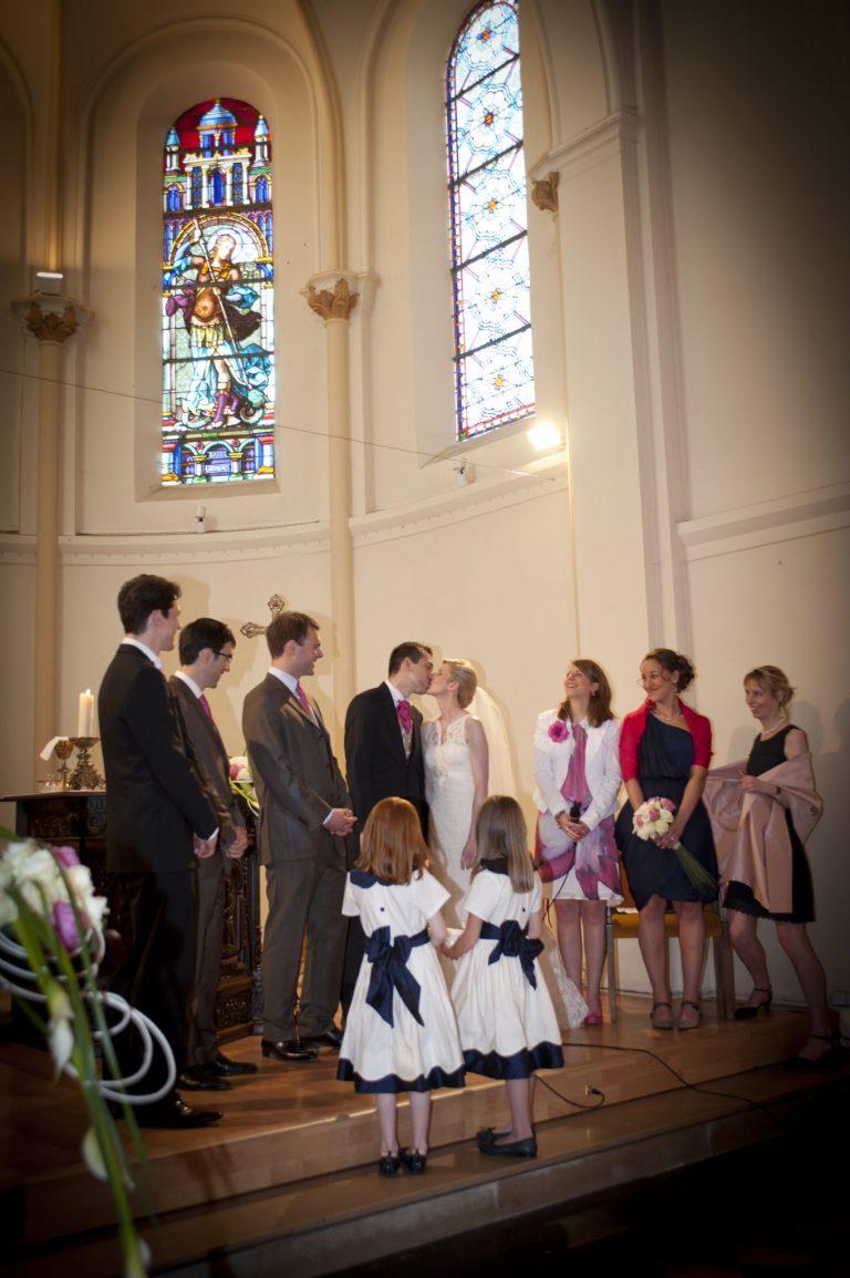 mariage religieux église reportage photo mariage