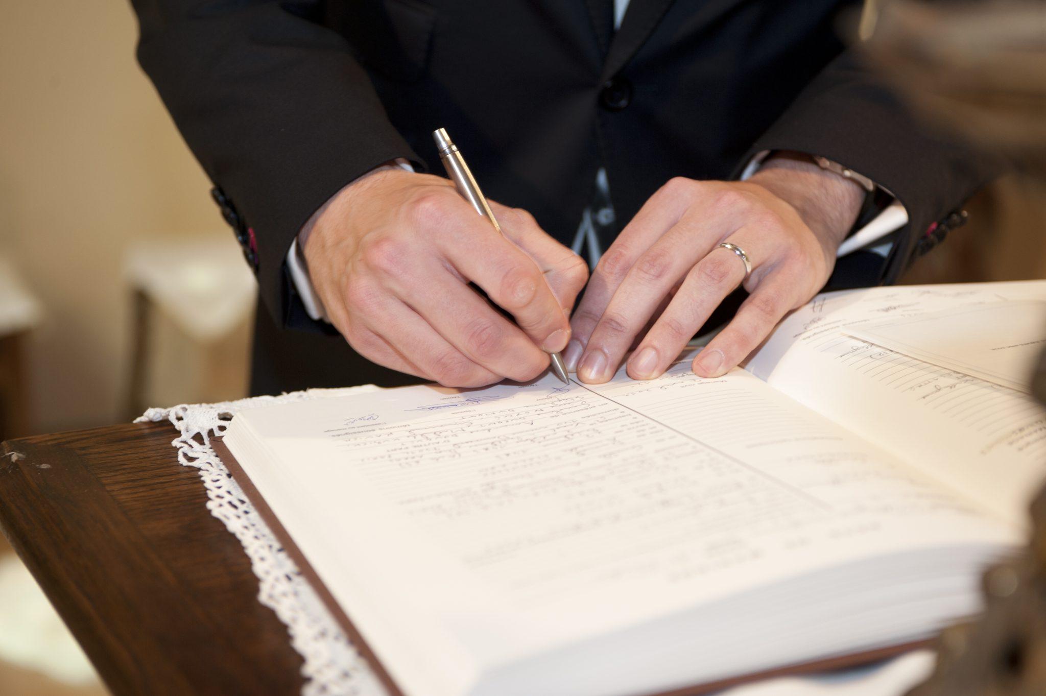 signature mairie reportage mariage