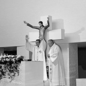 photo église mariage religieux reportage photo noir&blanc