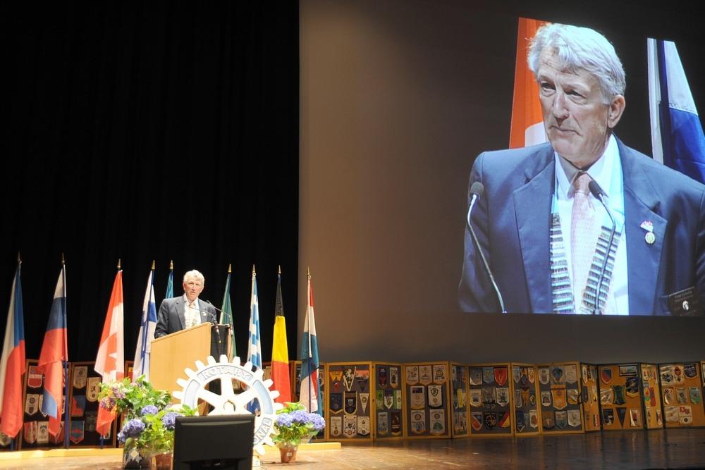 reportage photo corporate au congrès Rotary International