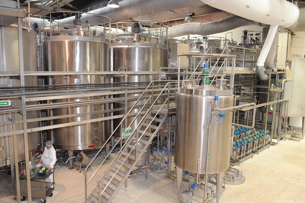 photo corporate site de production usine