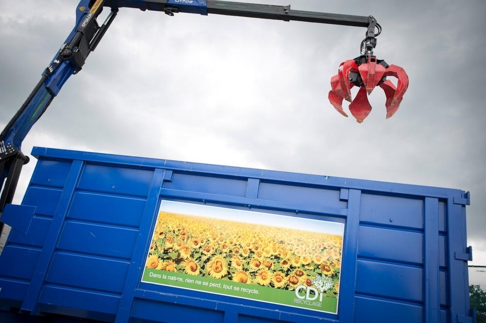 reportage photo société de recyclage CDI