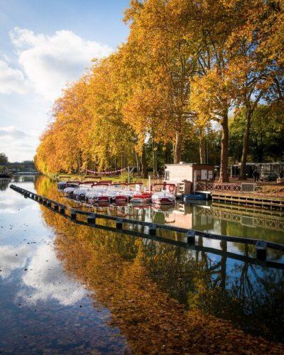 paysage naturel aux couleurs de l'automne